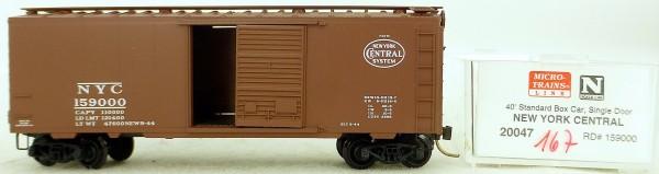 Micro Trains Line 20047 NYC 159000 40' St. Boxcar 1:160 OVP #H167 å