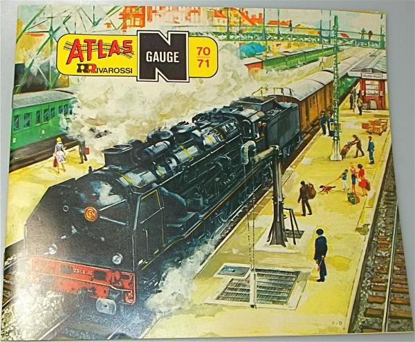 Rivarossi Atlas Katalog 1970 1971 å