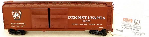 Micro Trains Line 78010 Pennsylvania 50' Auto Box Car Double Doors 1:160 #F å