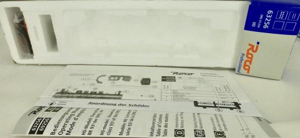 Roco 63256 LEERKARTON mit Zurüstbeutel H0 1:87 KB3 å