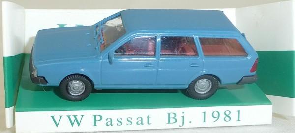 Taubenblau VW Passat Bj 1981 IMU/EUROMODELL 11021 H0 1/87 OVP # HO 1 å