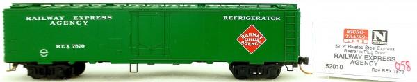 Micro Trains Line 52010 REX 7870 52'2'' Riveted Steel Reefer 1:160 #K058 å