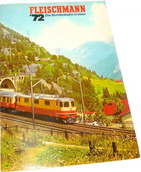 Fleischmann Katalog 1972 å *