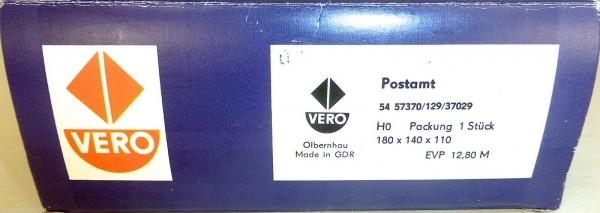 Postamt H0 1:87 Bausatz VERO 54 57370 129 37029 OVP NEU # UZ2 å