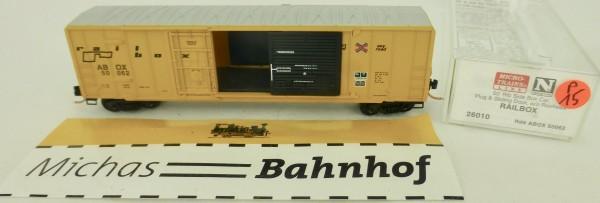 Railbox 50' Rib Side Boxcar ABOX 50062 Micro Trains Line 26010 1:160 P15 å