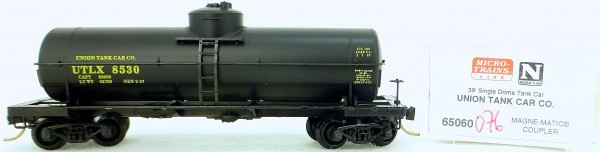 Micro Trains Line 65060 UTLX 8530 39' Single Dome Tank Car 1:160 OVP #i076 å