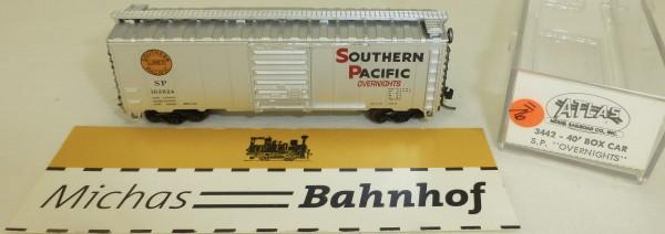 Southern Pacific Overnights 163824 40' Box Car Atlas 3442 N 1:160 #=16 å