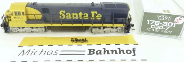 C30-7 KATO 176-301 Santa Fe AT&SF 8017 Diesellok N 1:160 OVP Q20 å *
