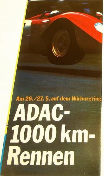 26./27.5. ADAC 1000 km Rennen Nürburgring FLYER å V05 *