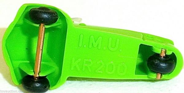Cabriolet KR200 GRÜN Kabinenroller Messerschmitt IMU 1:87 H0 Kleinserie HM2 å *