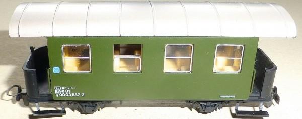 Bi 98 81 00 03 887-2 Personenwagen Schmalspur Liliput H0e å *