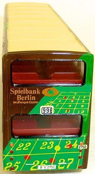 Spielbank Berlin 99E Werbebus MAN SD 200 gesupert aus WIKING Bus H0 1:87 BE43 å*