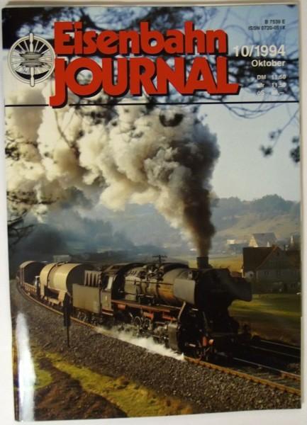 Eisenbahn Journal 10/1994 Oktober, Bevor die Feuer erloschen