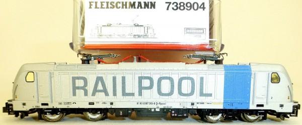 BR 187 Railpool DSS Next18 KKK NEM 355 EpVI Fleischmann 738904 N 1:160 OVP å *