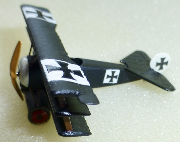 Marks 5002 Fokker Dr.1 schwarz Doppeldecker Flugzeug N 1:160 OVP HR2 å