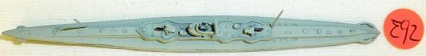U 139 U-Boot Navis Neptun Schiffsmodell 1:1250 SHP∑92 å *