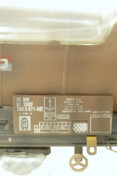 Knickkesselwagen Nacco ECC gealtert MU32000D Modellbahn Union N 1:160 HR6 å