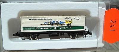 THIER Dortmund, Containerwagen Kolls 87001 Märklin 8615 Z 1/220 *241*