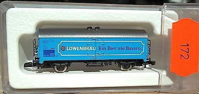 Löwenbräu Wagen blau Kolls 87032 Märklin 8600 Spur Z 1/220 *172* å