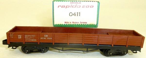 Niederbordwagen Xxo 49 braun 0411 ARNOLD rapido 200 N OVP HS4 µ *