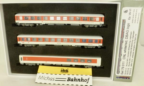 CNL 3-tlg Bvcmz WRm weiß/rot DB Nachtzug EpVI LS Models 79011 N 1:160 HR4 å