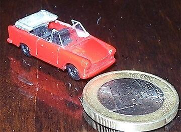 Cabrio Trabbi Trabant TT 1:120 å
