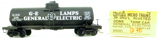 Micro Trains Line 65081 GE ILDX32939' Single Dome Tank Car 1:160 OVP #i070 å