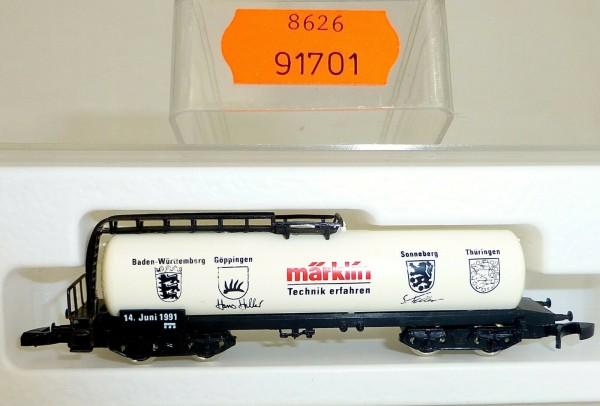 Märklin Technik erfahren Kesselwg Kolls 91701 Märklin 8626 Spur Z 1/220 *1042* å
