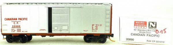 Micro Trains Line 20890 Canadian Pacific 40' Standard Boxcar 1:160 OVP #H015 å