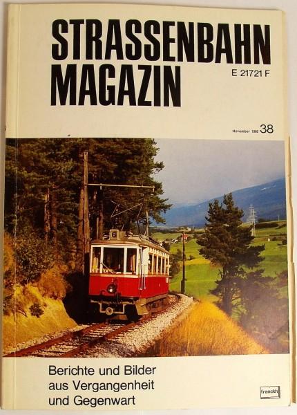 Straßenbahn Magazin Heft 38 November 1980 S.241-320 Franckh'sche Verlagshandlung