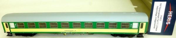 PKP Reisezugwagen Typ 111 2te Kl hellgrün beige Heris 17025-2 H0 NEU HA1 µ*