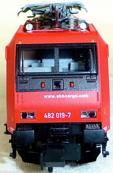 SBB Reihe Re 482 Ellok SBB CARGO Ep5 Fleischmann 7386 1:160 N OVP NEU HR4 µ *