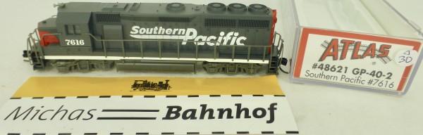 GP-40-2 Southern Pacific 7616 Atlas 48536 Diesellok N 1:160 OVP ∆30 å