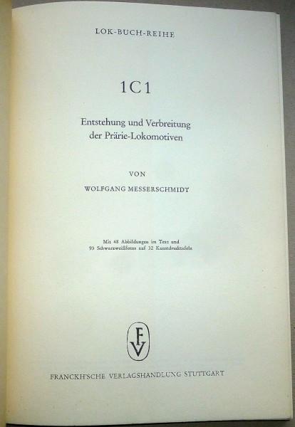 1C1 Entstehung und Verbreitung W Messerschmidt Franckh KE2 å *