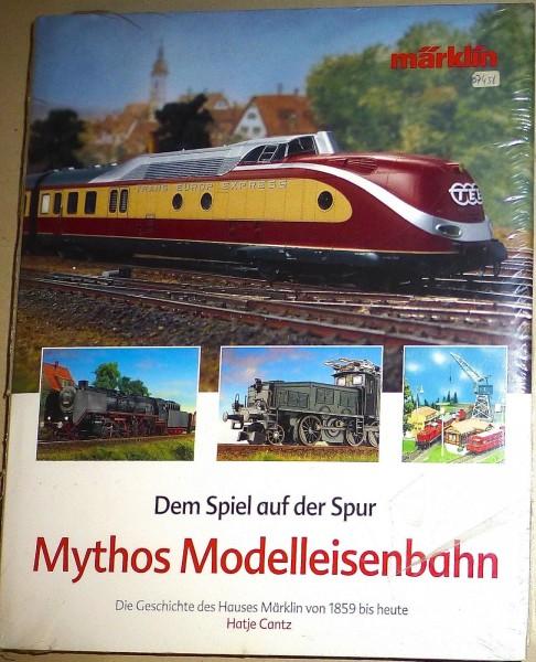 Mythos Modelleisenbahn Märklin von 1859 bis heute Hatje Cantz Märklin 07458 µ *