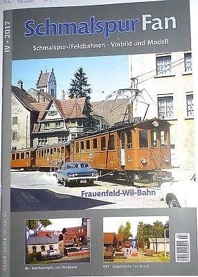 IV 2017 Schmalspur Fan Feldbahnen Vorbild Modell Frauenfeld Will Bahn µ*