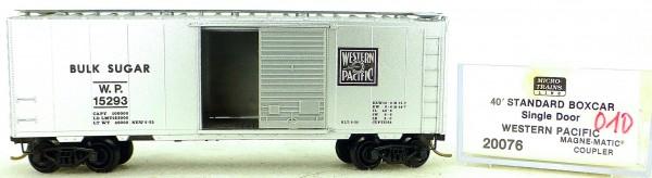 Micro Trains Line 20076 W.P. 15293 40' Standard Boxcar 1:160 OVP #H010 å
