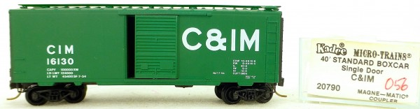 Micro Trains Line 20620 Union Pacific 192920 40' Standard Boxcar 1:160 OVP #H057 å
