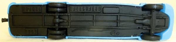 Gräf & Stift 120 Fon 1953 Nordbad blau V&V BUS H0 1:87 å *
