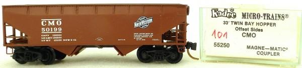 Micro Trains Line 55250 CMO 50199 33' Twin Bay Hopper OVP 1:160 #K101 å