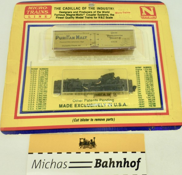 BLISTER KIT RuriTan Malt URT 40636 Boxcar Bausatz Micro Trains 49359 N 1:160 HC6 å