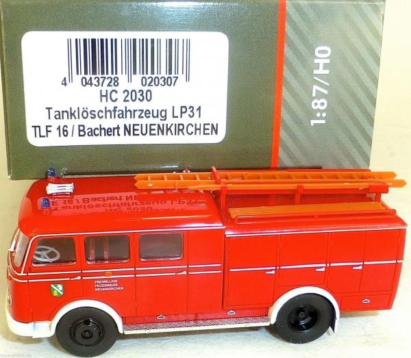 Tanklöschfahrzeug LP31 TLF16 Bachert NEUENKIRCHEN HEICO HC2030 OVP NEU µ