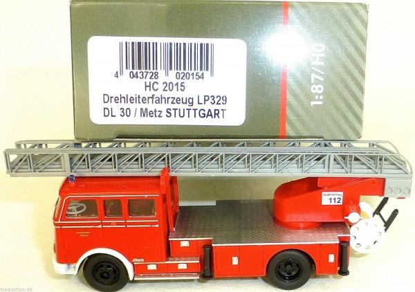 Drehleiterfahrzeug LP329 DL30 Metz STUTTGART HEICO HC2015 OVP NEU µ