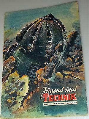 Jugend und Technik, 3.Jahrgang, Heft 11, 1955