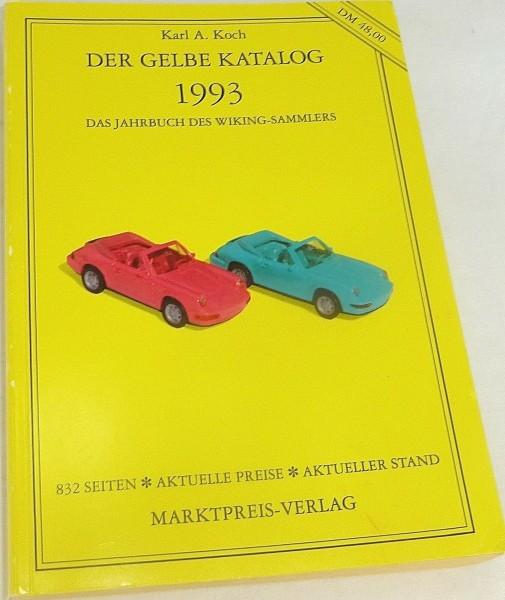 """""""Der gelbe Katalog"""" 1993 für Wiking, Koch , vereinzelte Einträge # å *"""