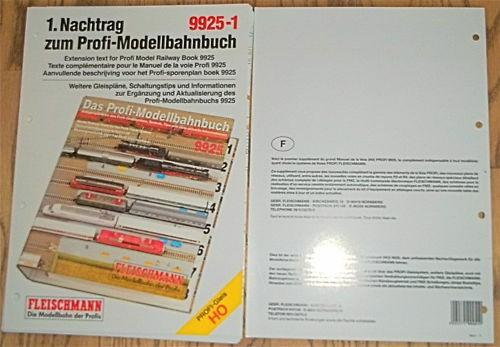 FRANCAISE Texte complémentaire Voie Profi Fleischmann 9925-1 µ HU7