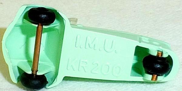 Cabriolet KR200 TÜRKIS Kabinenroller Messerschmitt IMU 1:87 H0 Kleinserie HM2 å*