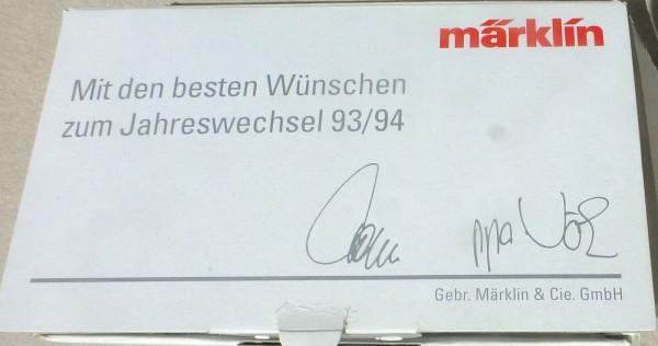93 94 Jahreswechsel 800 Jahre Friedrich II Märklin Spur Z 1:220 OVP å