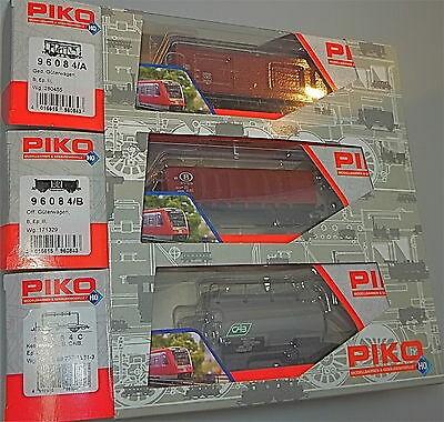 3er Set Güterwagen SNCB PIKO 96084 NEU 1:87 OVP #HU4 å√