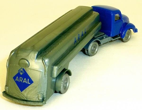 ARAL Magirus 3500 blau silber Tanksattelzug H0 1:87 å *